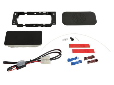 INBAY® Kit 3 Spulen 12V Kabel/Lichtleiter Kit 10W