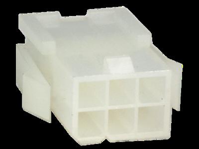 Molex Mini Fit Buchsengehäuse 6 polig