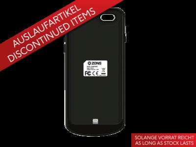 Zens Qi Ladehülle iPhone 7 schwarz