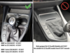 INBAY® Ablage BMW 1er Serie F20/F21 LHD15W