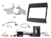 2-DIN Kit Porsche Cayenne 2011-2016 Infodapter/Amp schwarz