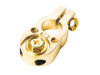Batterieklemme Pluspol (gold)   2 x 10 mm²
