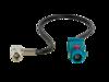 Antennenadapter Fakra(m) > SMB(f) 90° 20cm lose