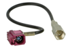 Antennenadapter FME(m) > Fakra D(f) 90° 20cm