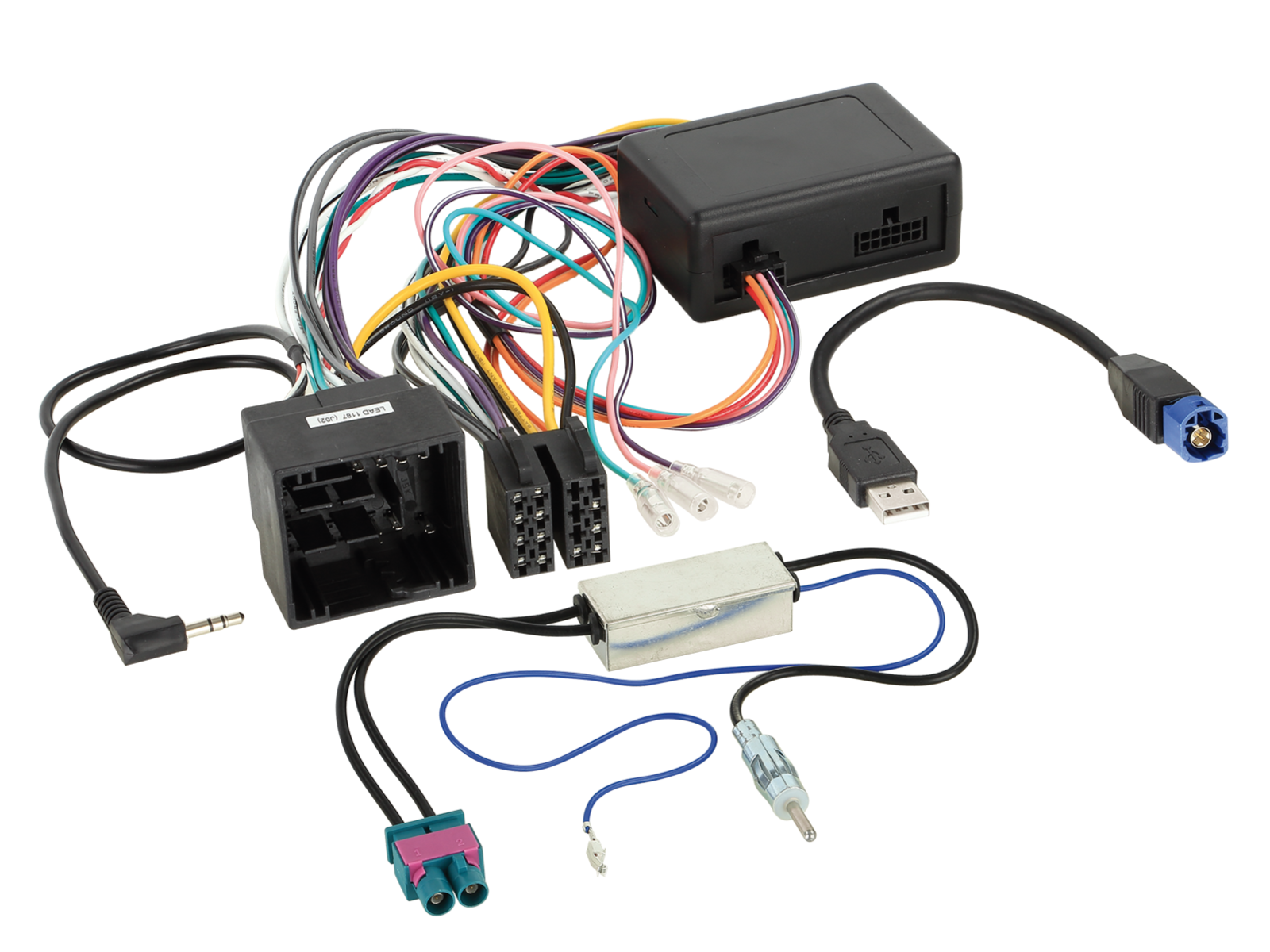 LFB Peugeot Expert/Traveler 50Pin USB/Antenne/PDC