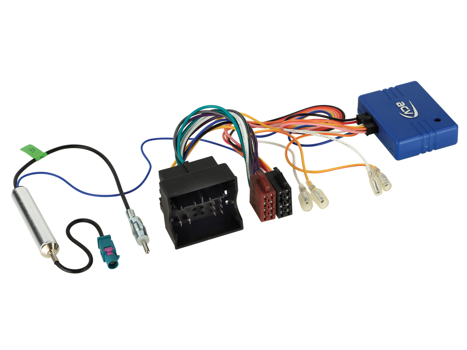 CAN-Bus Kit VAG 52Pin Quadlock>ISO/Antenne Fakra>DIN lose