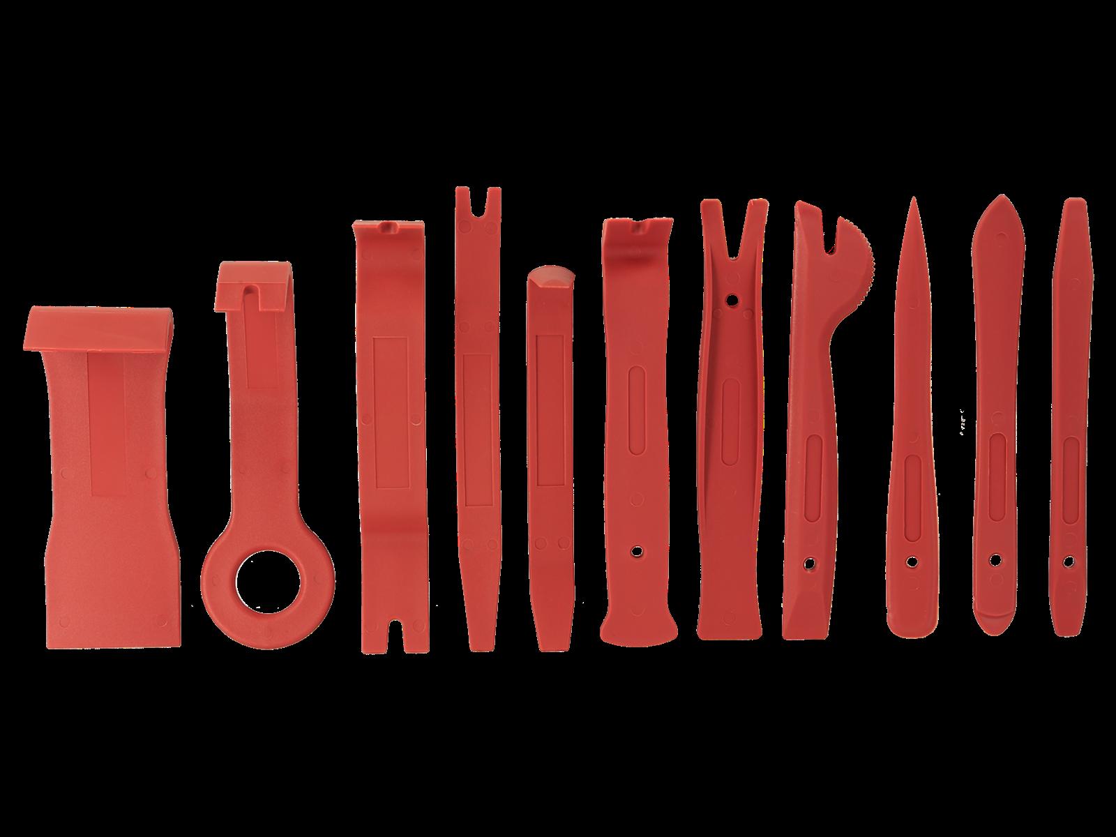 Abzieher hochfester Kunststoff / Rolltasche 11 Teile